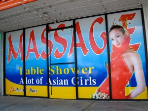 Table Shower Massage in Las Vegas